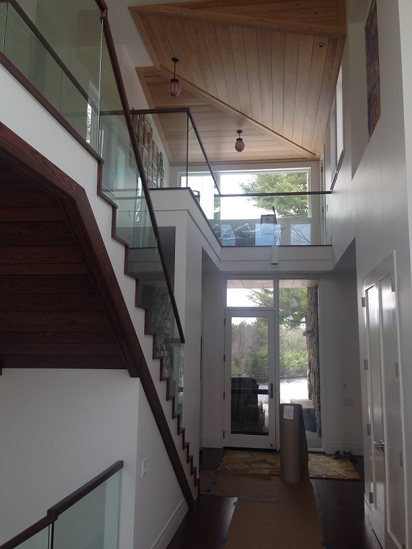 Glass Railings | Glass & Mirror Services Westbrook Maine